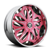 S715-Spike Pink & Milled