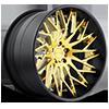 XA80 - Tryst Brushed w/ Gloss Trans Gold, Matte Black lip