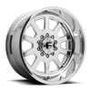 FF09D - 10 Lug Super Single Front Polished