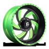FF10 Matte Black | Lime Candy Green
