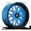 FF19 - UTV Gloss Black w/ Candy Blue