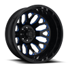 FF19D - Rear Gloss Black w/ Trans Blue