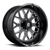 FF19 Black & Milled | 20 x 10 | 6 Lug