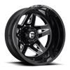 FF21D - Rear Gloss Black & Milled