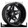 FF21D - Rear Gloss Black & Milled