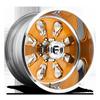 FF24 - 8 lug Brush Copper | Polish Lip | Hi Luster Windows