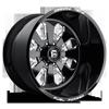 FF24 - 8 lug Gloss Black & Milled