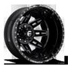 FF26D - Rear Gloss Black & Milled