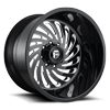 FF28D - Super Single Front Gloss Black & Milled