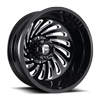 FF28D - Rear Gloss Black & Milled