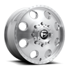 FF31D - 8 Lug Front Brushed Gloss Clear