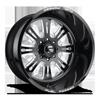 FF38 Gloss Black & Milled