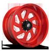 FF39 - 6 Lug Candy Red