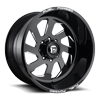 FF39 - 8 Lug Gloss Black & Milled