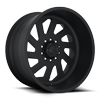 FF39D -10 Lug Front Super Single Matte Black