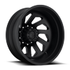 FF39D - 10 Lug Rear Matte Black