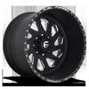 FF39D - 8 Lug Super Single Front Matte Black & Milled