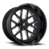 FFC45 - 6 Lug | Concave Gloss Black & Milled
