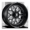 FF45 - 8 Lug Gloss Black & Milled