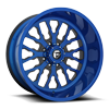 FF45 - 8 Lug Blue Burg w/ Magnetic Metallic Windows
