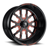FF45-6 Lug Gloss Black | Inferno Orange