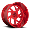 FF51 - 5 Lug Candy Red