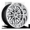 FF51 - 8 Lug Brushed w/ Gloss Black Windows