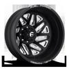 FF51D - Rear Matte Black & Milled