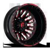FF45D - Rear Gloss Black w/ Red Windows