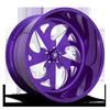 FF59 - 5 Lug Candy Purple & Milled