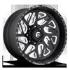 FF51D | Concave Super Single Front Matte Black & Milled