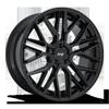 Gamma - M224 22x10.5 | Glossy Black
