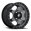 Gatling - D640 15x7 | Anthracite w/ Black Ring