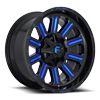 Hardline - D646 Gloss Black w/ Candy Blue
