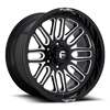 Ignite - D662 Gloss Black & Milled