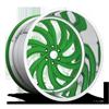 MAFIOSO 6 - FORGED HD Illusion Green Ice