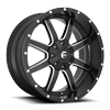 Maverick - D538 Matte Black & Milled