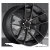 Targa - M130 Black & Machined with Dark Tint
