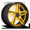 Mulsane Ferrari Yellow w/ Gloss Black