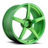 Scuderia 5 Hi Luster Polish | Transparent Candy Green