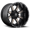 Nutz - D252 Black & Machined with Dark Tint