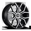 Royalty - S209 22X9.5 | Gloss Black & Machined w/ Dark Tint
