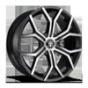 Royalty - S209 Gloss Black & Machined w/ Dark Tint