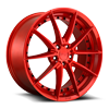 Sector - M213 20x9 Candy Red