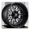 Stroke - D611 Gloss Black & Milled