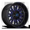 Stroke - D645 Gloss Black w/ Candy Blue