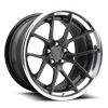 Targa 19x11.5 Candy Black w/ Polished Lip