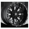 Throttle - D513 Matte Black & Milled