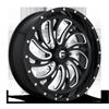 Kompressor - D641 - UTV Gloss Black & Milled