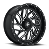 Triton - UTV 18x7 | 4 Lug | Gloss Black & Milled